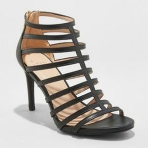 A New Day | Caged Heel Pumps | NWT